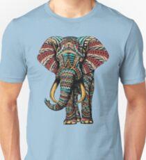 Ornate Elephant (Color Version) T-Shirt
