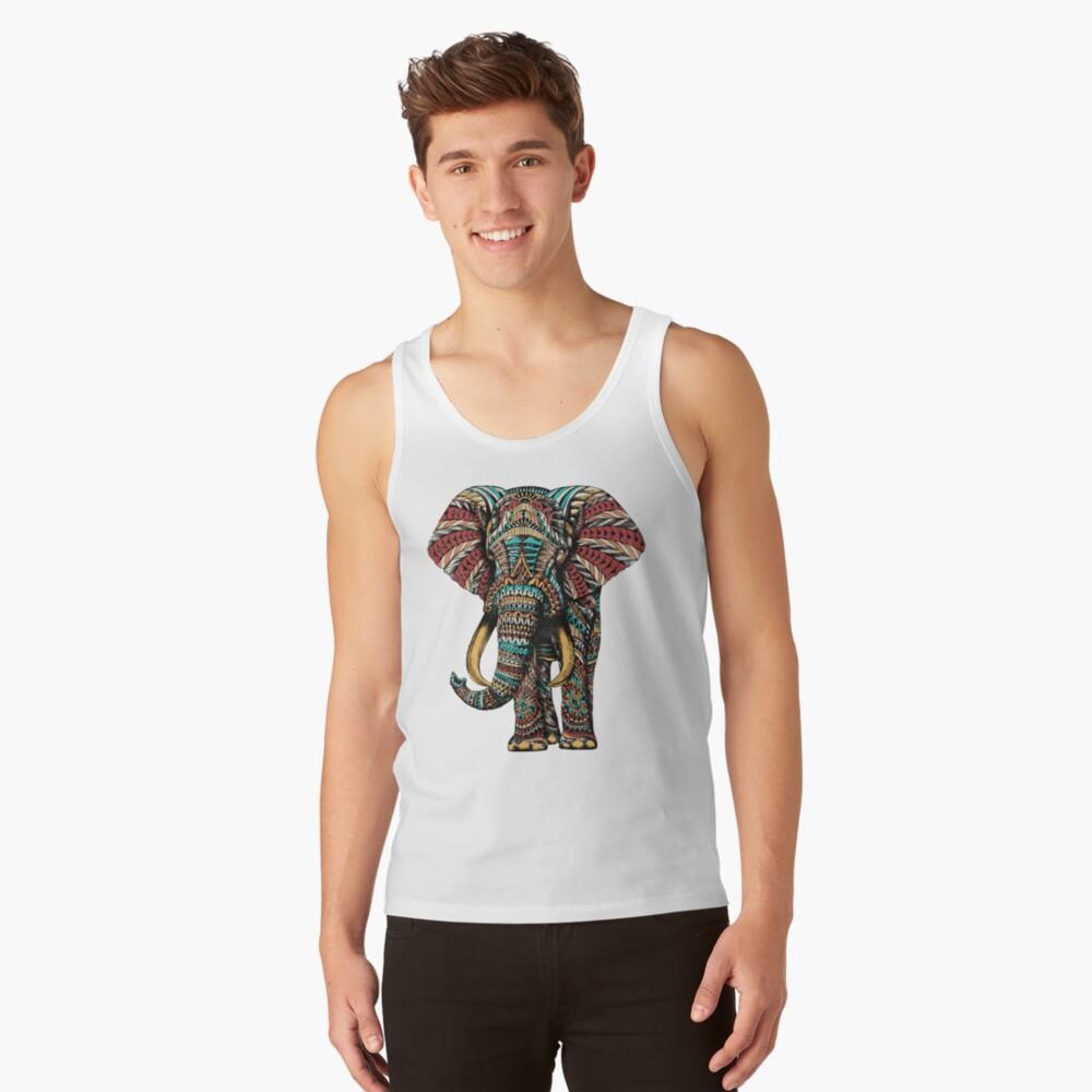 Ornate Elephant (Color Version) Tank Top