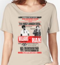 Enter the Dragon - Williams vs Han Women's Relaxed Fit T-Shirt