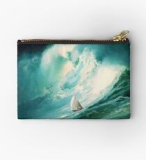 high tides emerging Studio Pouch