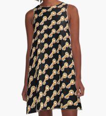 Key Emoji A-Line Dress