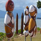 Beachfront people ,Cardwell , North Queensland by Virginia McGowan