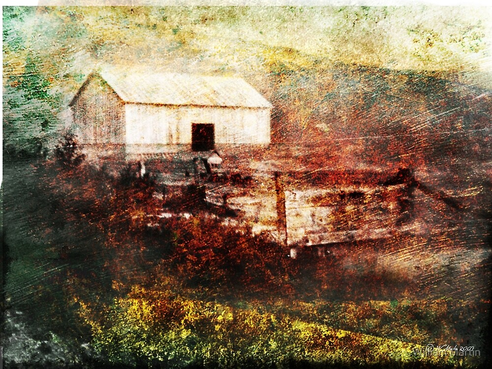 Old Family Barn by William Martin