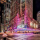 Radio City, New York by Colin White