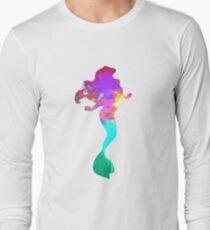 Mermaid Inspired Silhouette T-Shirt