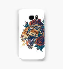 Ornate Leopard (Color Version) Samsung Galaxy Case/Skin