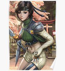 Yuffie Final Fantasy Poster