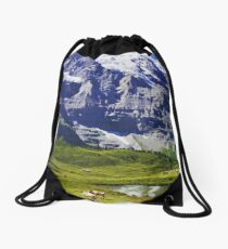 Switzerland- Jungfrau Drawstring Bag