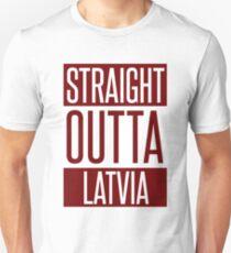 STRAIGHT OUTTA LATVIA T-Shirt