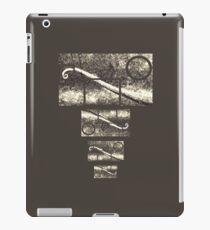 Tailed chameleon iPad Case/Skin