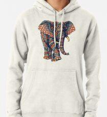 Ornate Elephant v2 (Color Version) Pullover Hoodie