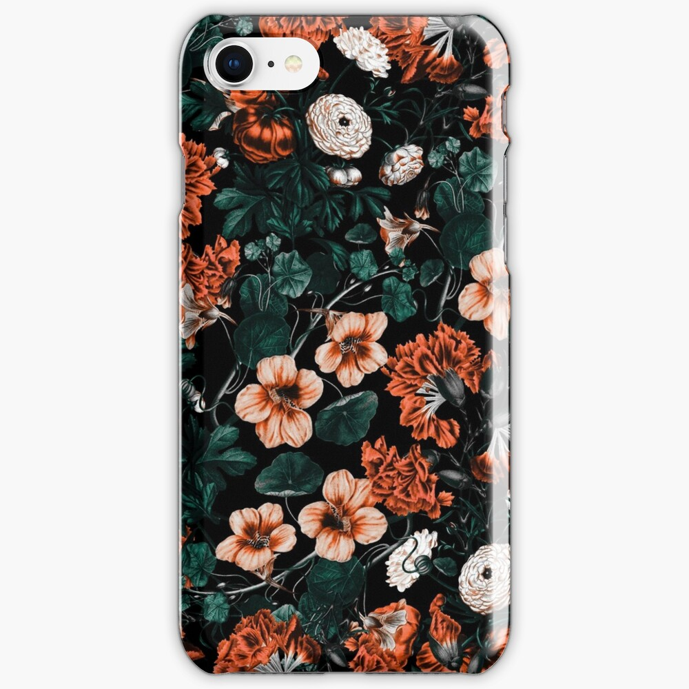 NIGHT FOREST XVII-A iPhone Case & Cover