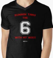 Drake - 6 God Men's V-Neck T-Shirt