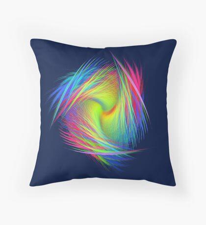 Forma 3 chaos #fractal art Throw Pillow