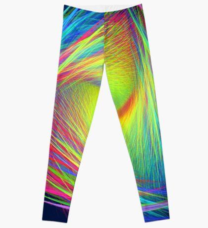 Forma 3 chaos #fractal art Leggings