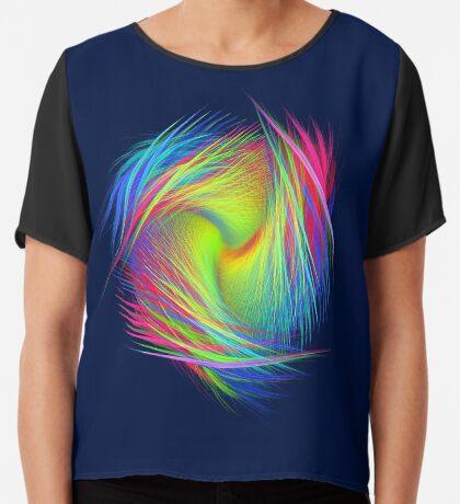 Forma 3 chaos #fractal art Chiffon Top