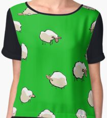 sheep Chiffon Top