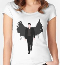Lucifer Morningstar Women's Fitted Scoop T-Shirt