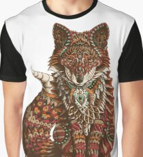 Red Fox (Color Version) Graphic T-Shirt