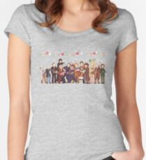 The Great Doctor Bake-Off Fitted Scoop T-Shirt