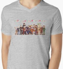The Great Doctor Bake-Off Men's V-Neck T-Shirt