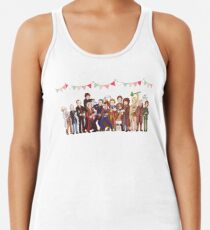 The Great Doctor Bake-Off Racerback Tank Top