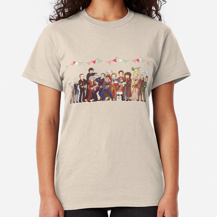 The Great Doctor Bake-Off Classic T-Shirt
