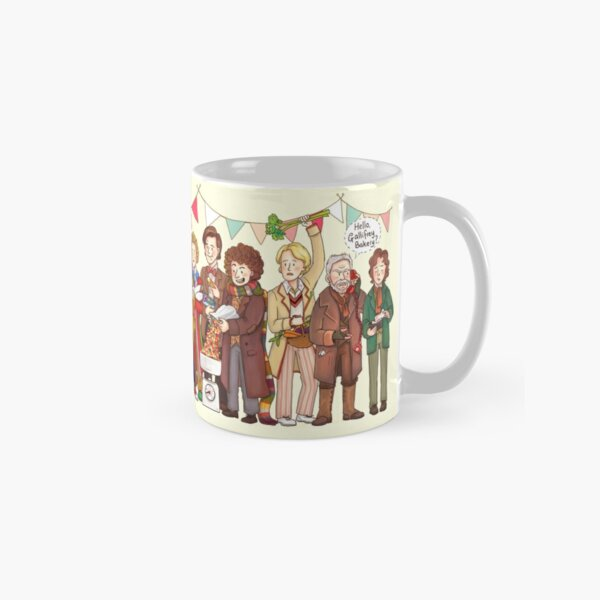 The Great Doctor Bake-Off Classic Mug