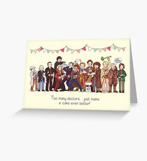 Doctor who greeting cards redbubble the great doctor bake off greeting card m4hsunfo