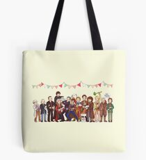 The Great Doctor Bake-Off Tote Bag
