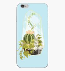 Blue Terrarium iPhone Case