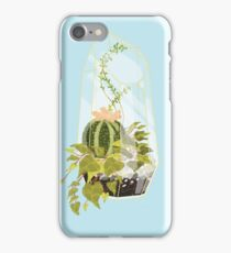 Blue Terrarium iPhone Case/Skin