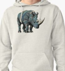 Rhino (Color Version) Pullover Hoodie