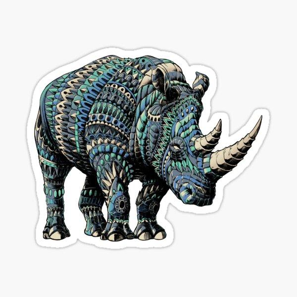Rhino (Color Version) Sticker