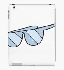 cartoon glasses iPad Case/Skin