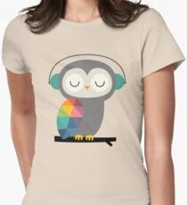 Owl Time Women's Fitted T-Shirt