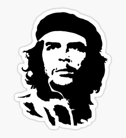 che guevara t-shirt Sticker