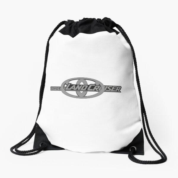 Toyota and Landcruiser Logo Drawstring Bag