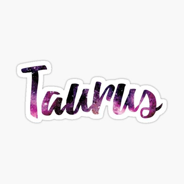 Taurus Zodiac Sign Sticker