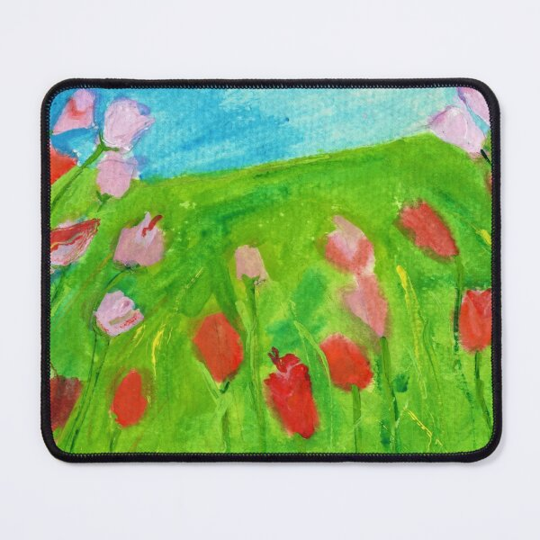 Texas Wild Flowers Mouse Pad