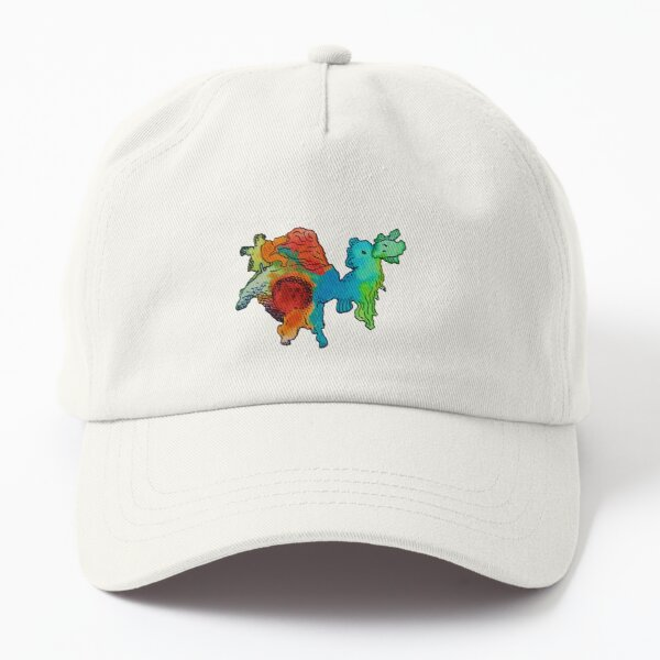 Whimsical Animal Friend Brie Dad Hat