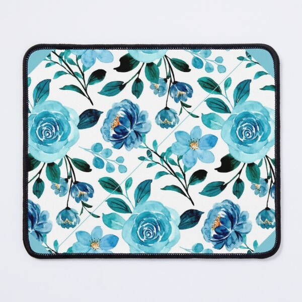 Touch of Teal Mouse Pad