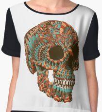 Ornate Skull (Color Version) Chiffon Top