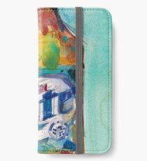 Miller Lite Beer Original Beer Art Watercolor iPhone Wallet/Case/Skin