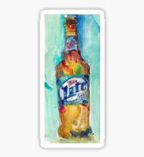 Miller Lite Beer Original Beer Art Watercolor Sticker