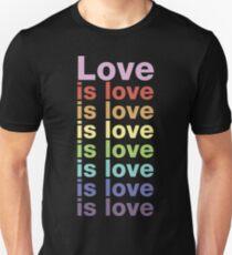 Liebe ist Liebe Unisex T-Shirt