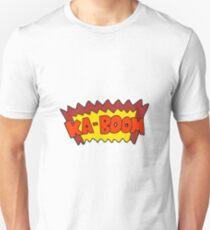 cartoon comic book explosion Unisex T-Shirt