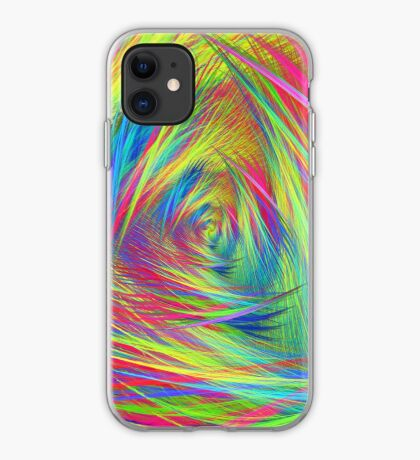 Forma 3 chaos continuous #fractal art iPhone Case