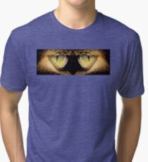 Cat's Eyes Tri-blend T-Shirt