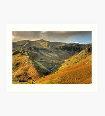 Coppermines, Coniston Art Print